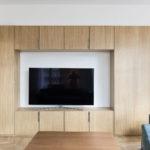 Meuble TV sur mesure en bois