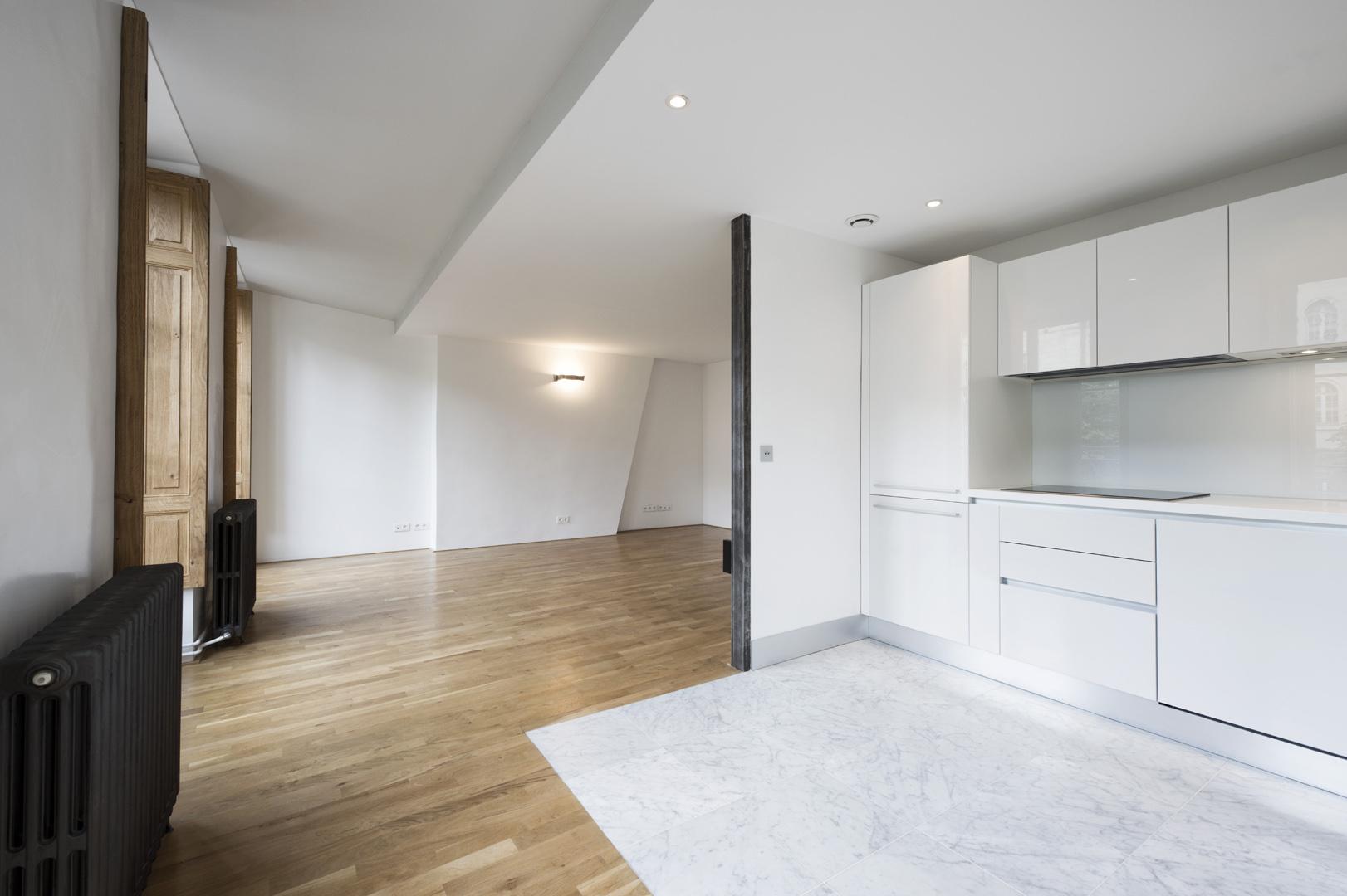 Petit appartement : cuisine