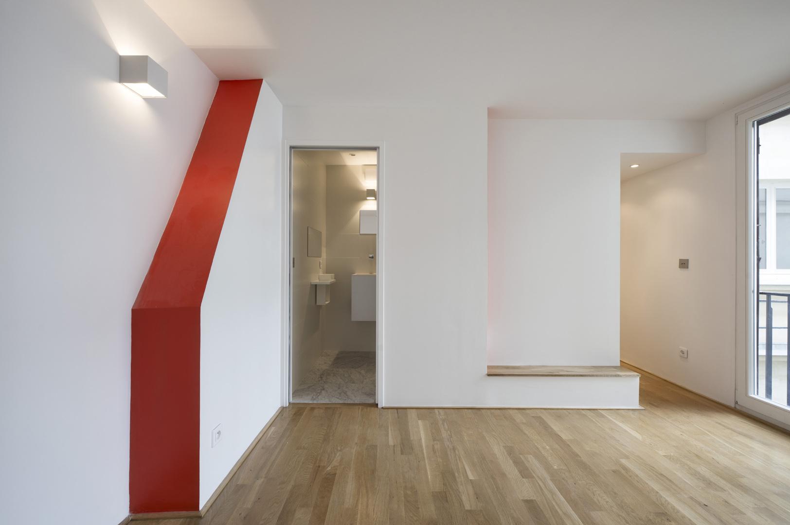 Petit appartement : chambre parentale