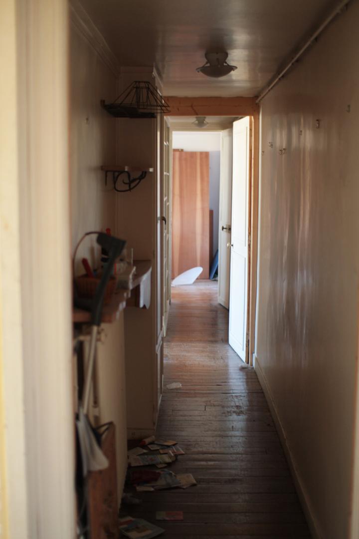 Avant : couloir