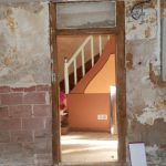 Avant : escalier