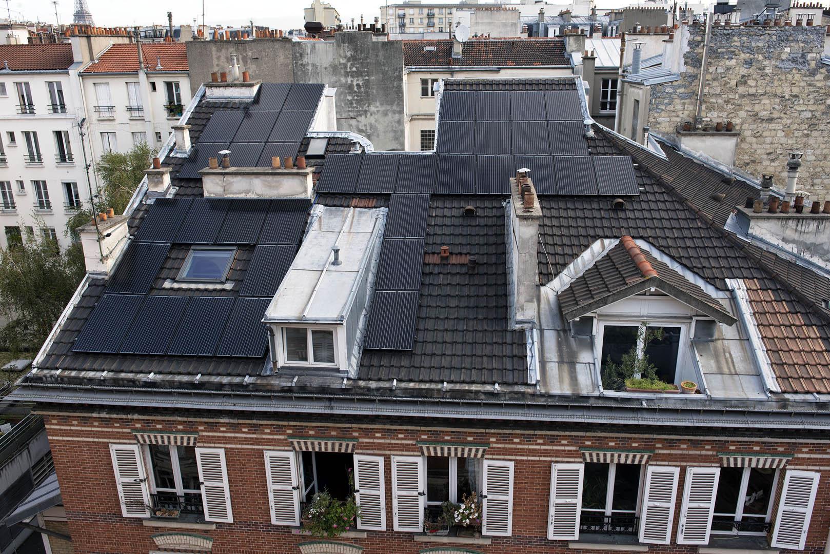 Panneaux photovoltaïques à Paris