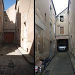 Façade sur rue : avant/après