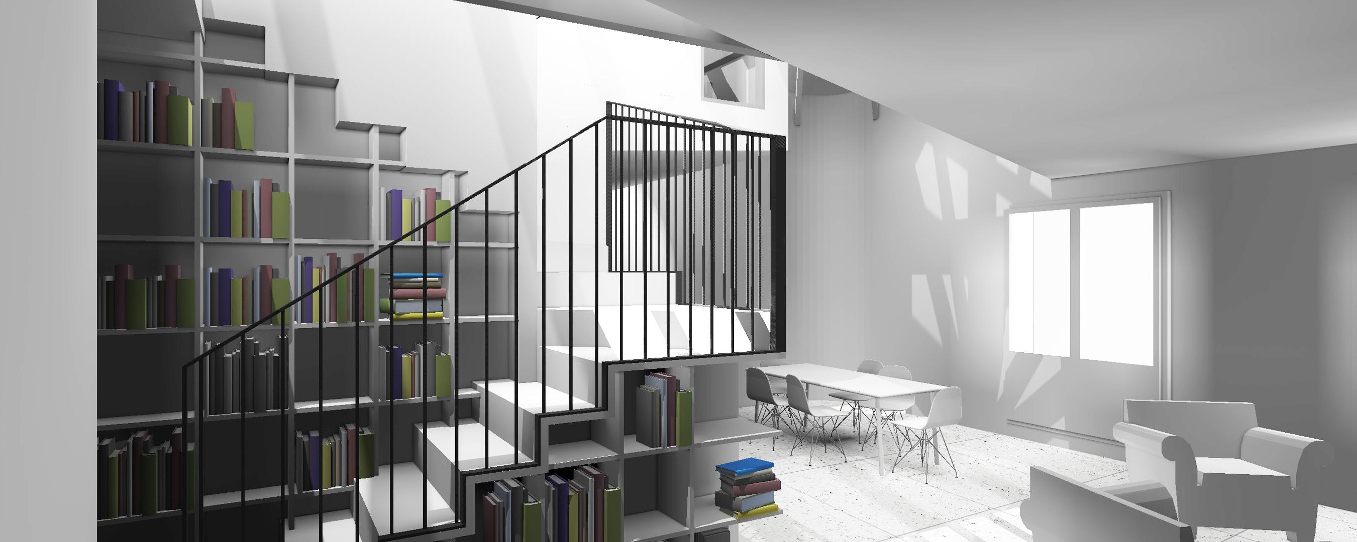Projet : escalier meuble