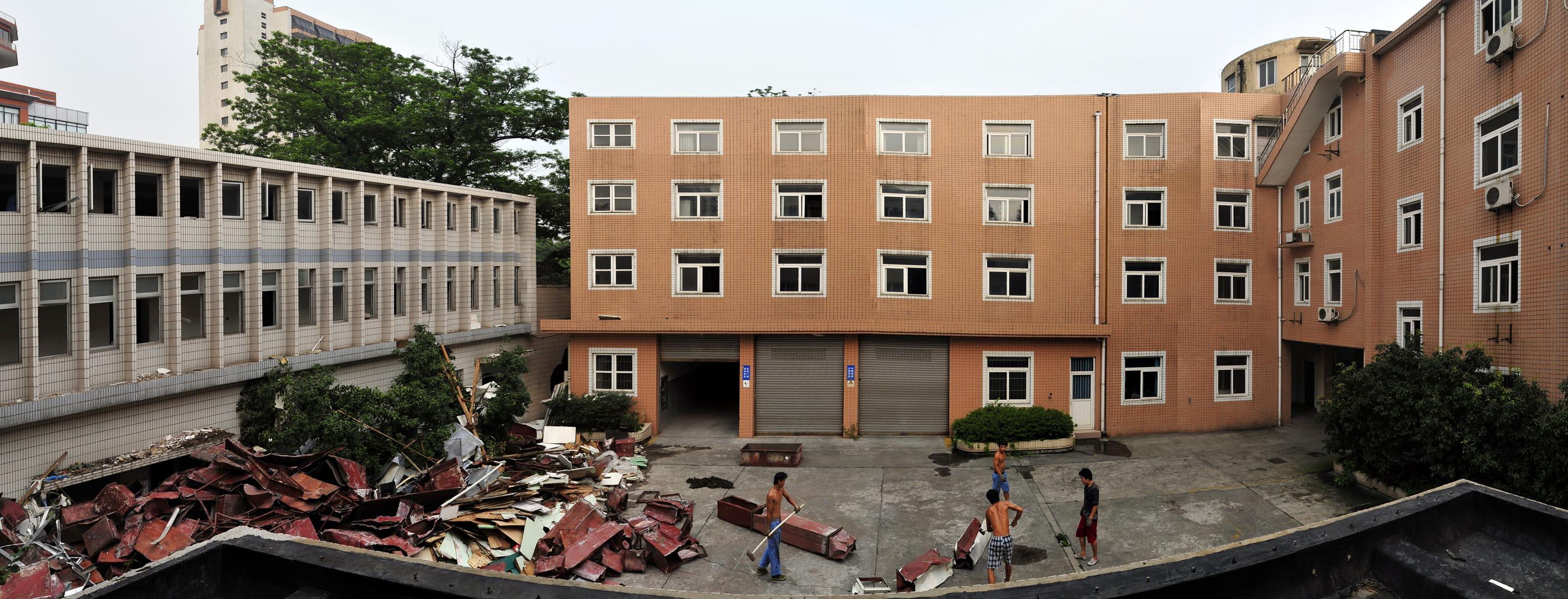 Avant : bâtiments administratifs