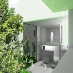 Habitation rive droite : vue intérieure maison