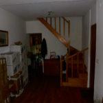 Avant : entrée et escalier