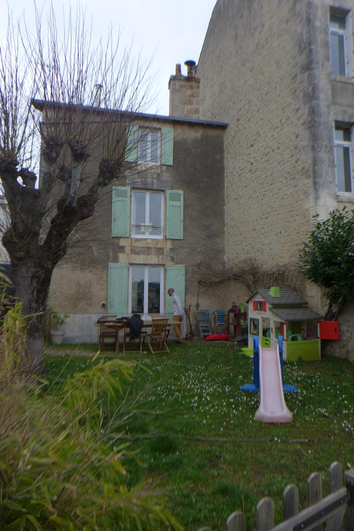 Avant : maison existante
